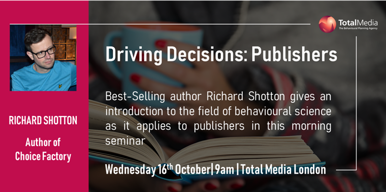 Driving Decisions - Publishers - Event invitation
